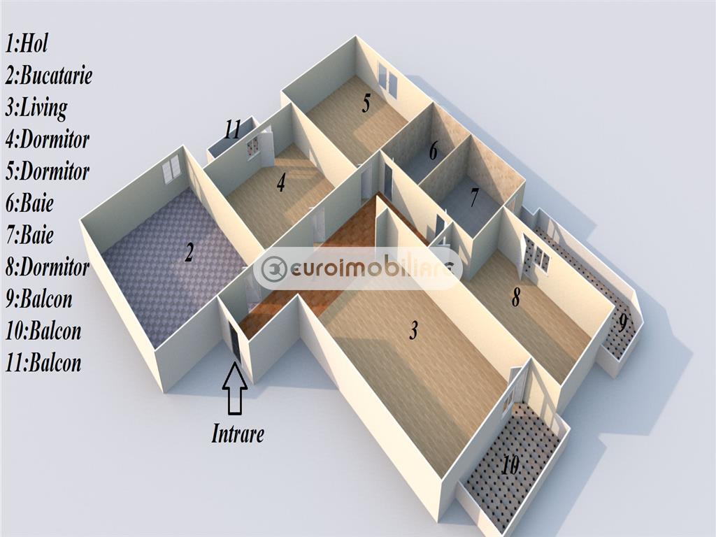 Apartament de vanzare in Lapus, MALL